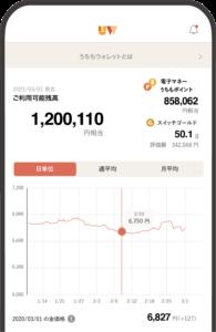 アプリ画面(ホーム)